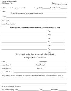 Microsoft Word - Hospers Swimming Pool Pass Form.doc