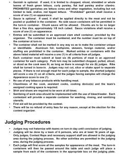2021 - SMOKE OFF Rules & Regulations - pg 2