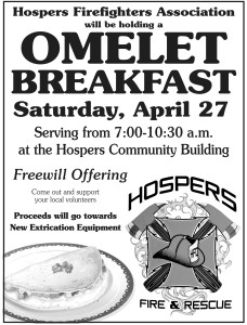 Fire Dept Omelet Breakfast