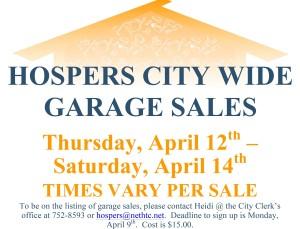 Microsoft Word - Garage Sales Flyer.docx