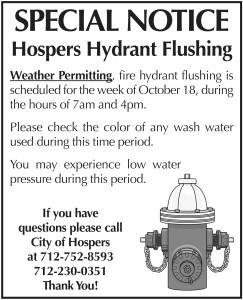 Hydrant Flushing