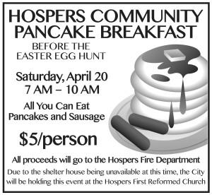 Pancake Breakfast ad