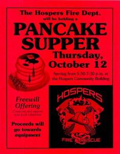 Pancake Supper - Fire Dept