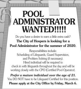 Pool Administrator