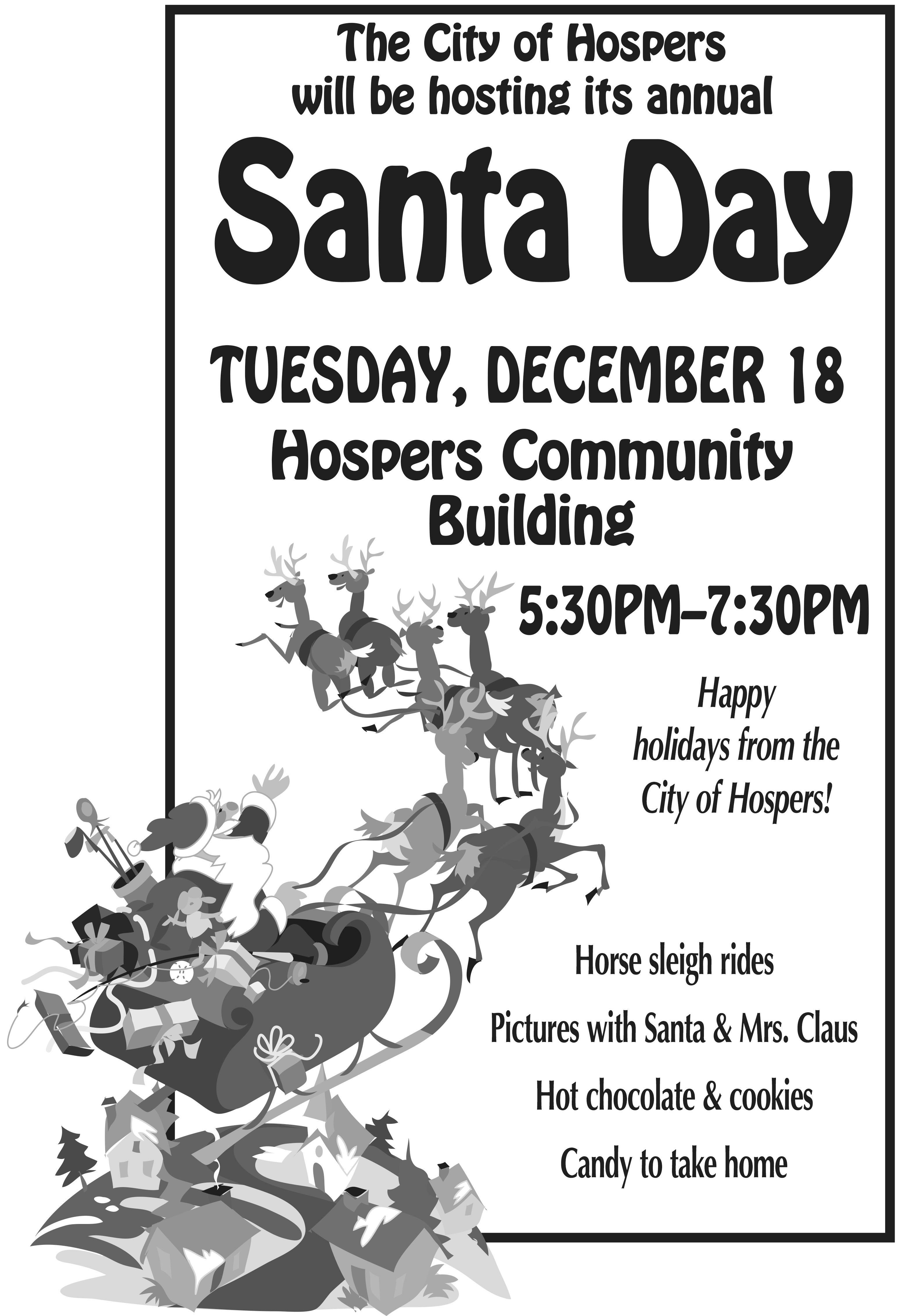 Santa Claus Is Coming To Townu2026and Mrs. Claus Too!