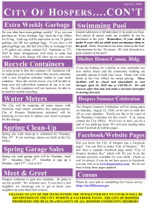 Spring 2020 Newsletter - Page 2