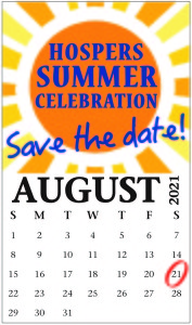 Summer Celebration - Save the Date - 2021