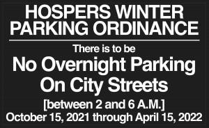 Winter Parking Ordinance